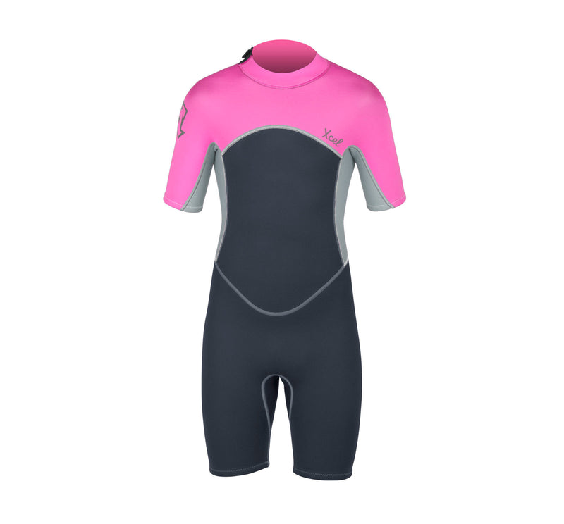Xcel Axis OS 2mm Youth Girl's Springsuit Wetsuit