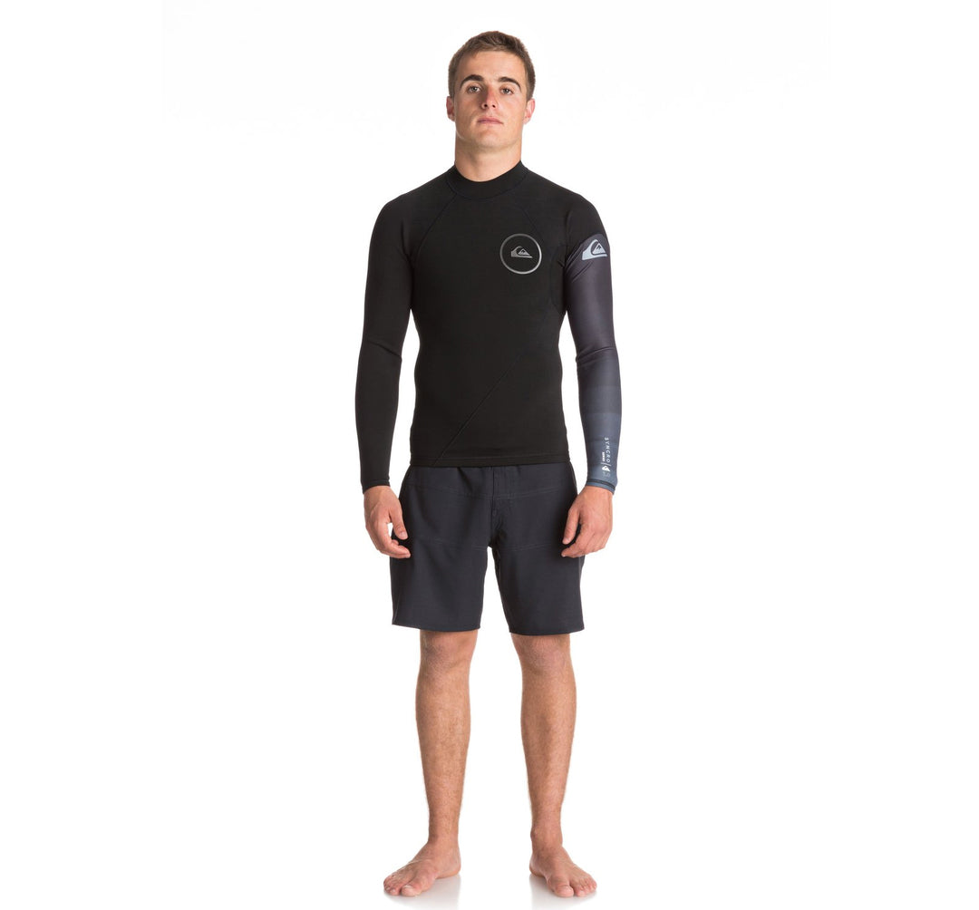 Quiksilver Syncro Series New Wave 1mm Men's L/S Wetsuit Top