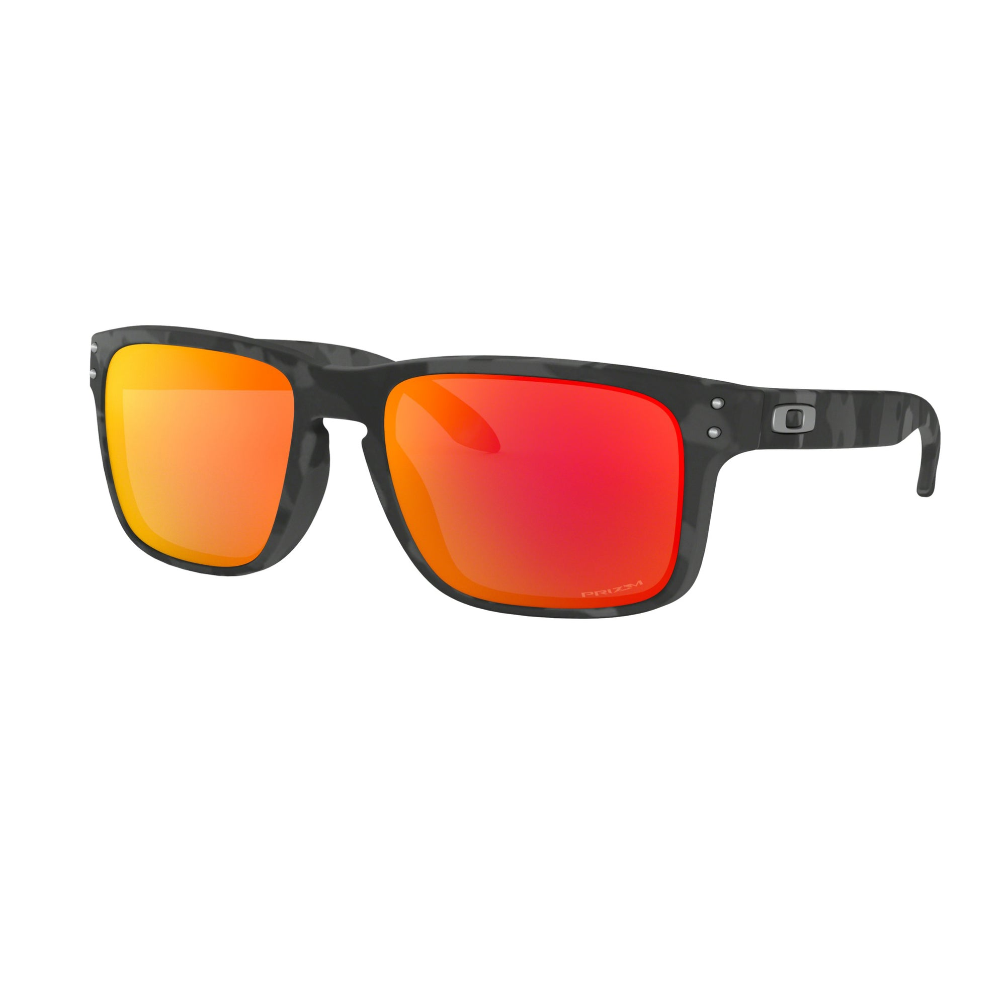 Oakley Holbrook Men's Sunglasses - Black Camo/Prizm Ruby