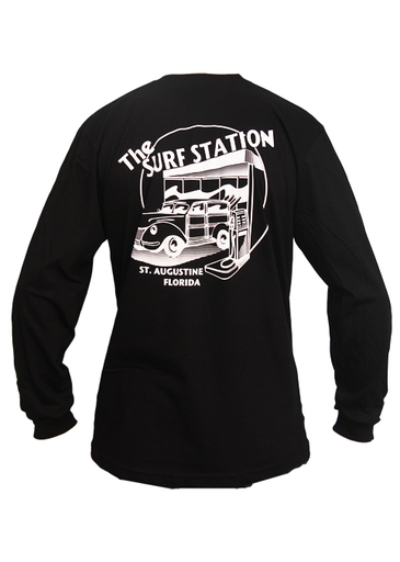 Surf Station Circle Woody Men's L/S T-Shirt
