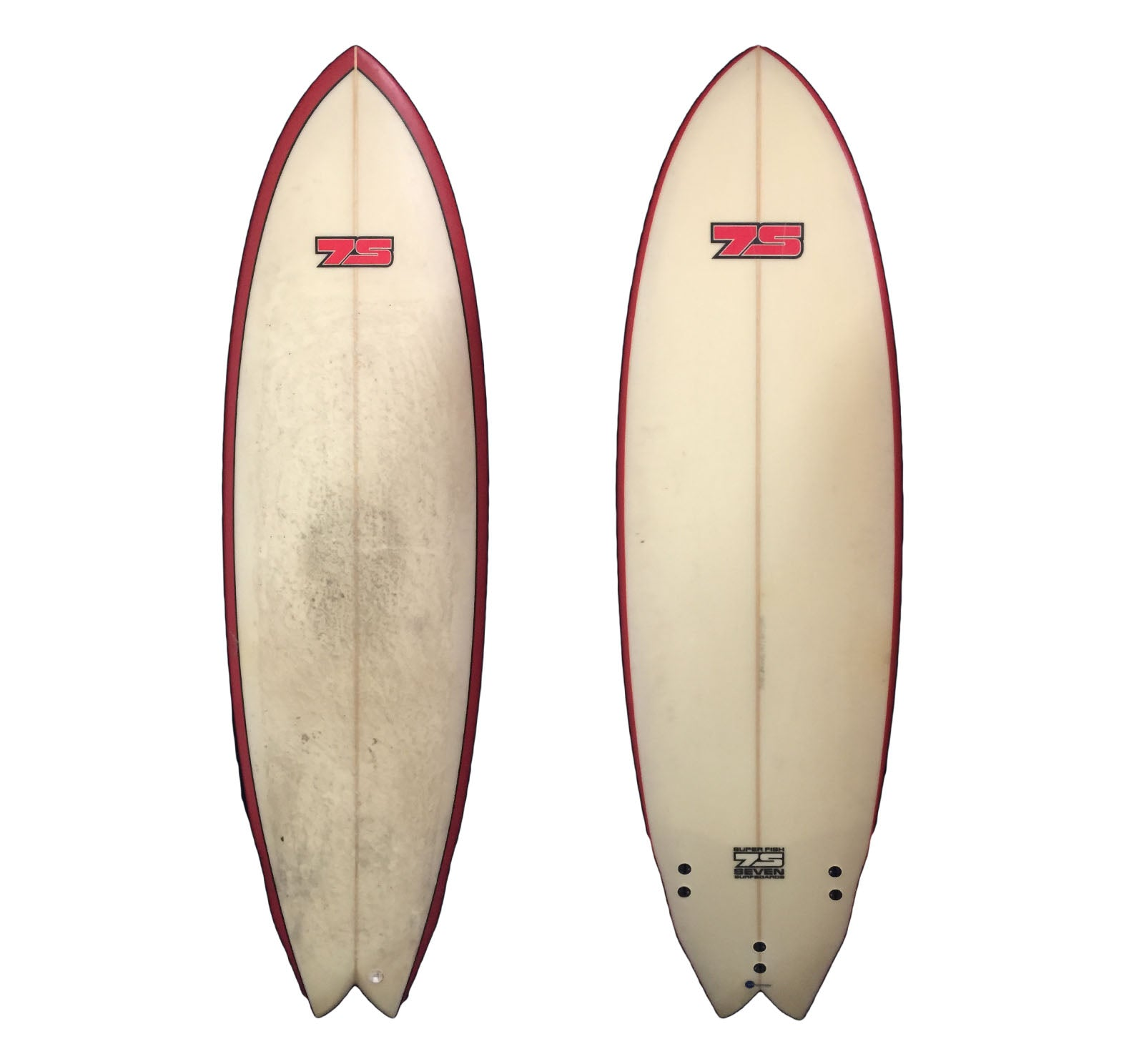7S Super Fish 6'3 Used Surfboard