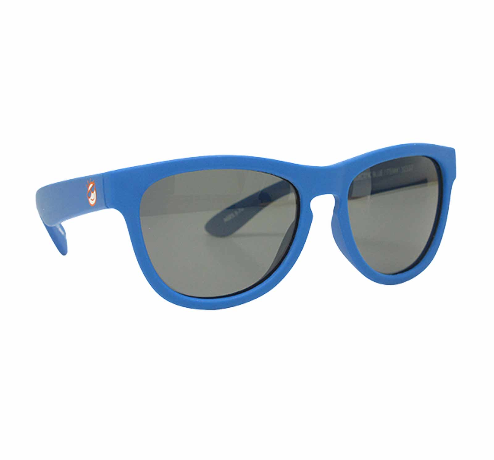 Mini Shades Classic Kid's Polarized Sunglasses (Ages 3-7) - Electric Blue