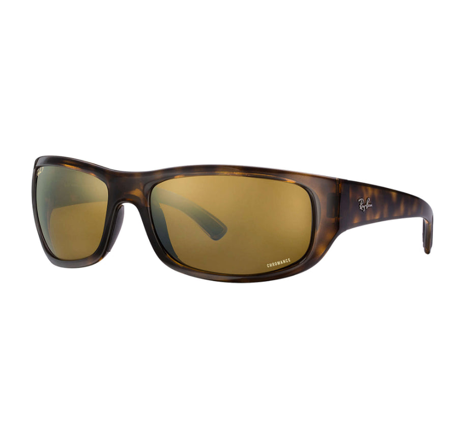 12d075a928f Ray-Ban 4283 Men s Sunglasses - Havana Frame Brown-Gold Gradient Polarized  Lens