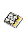 Bones Hardcore Medium Bushings Set - White/Yellow