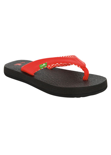 Sanuk Yoga Mat Youth Girl's Sandals
