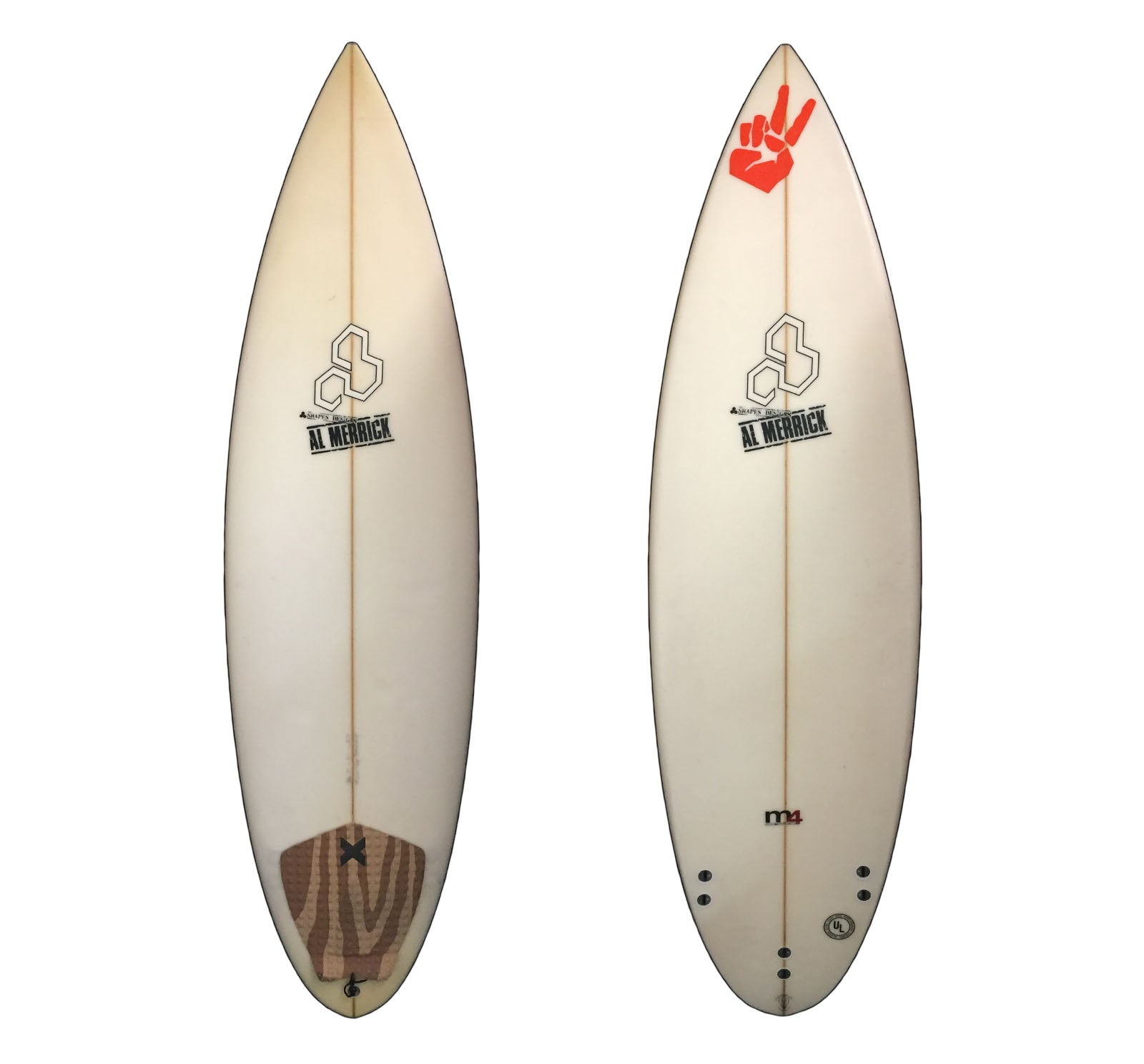 Channel Islands M4 6'0 Used Surfboard
