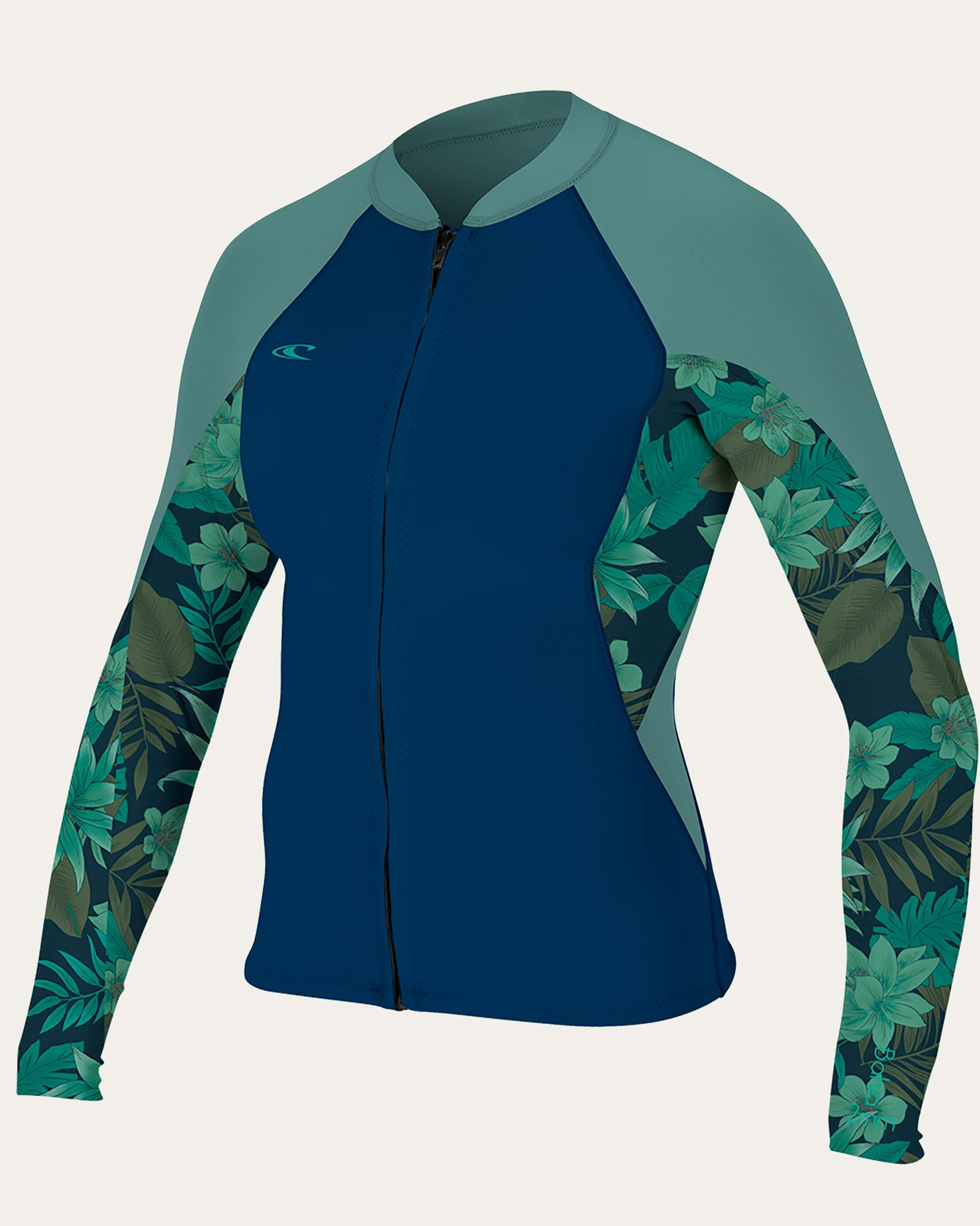 O'Neill Bahia 1.5mm Women's Front Zip Wetsuit Jacket