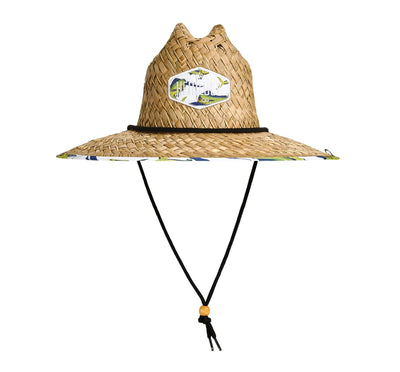 Hemlock Hat Co. Good Fight Straw Hat