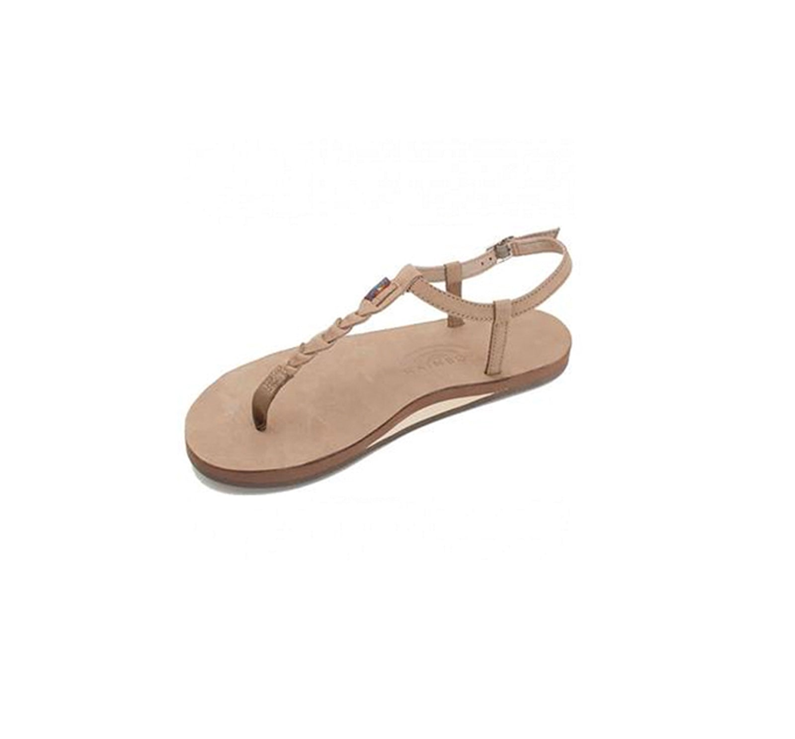 Rainbow T-Street Women's Sandals - Dark Brown