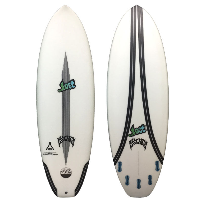 Lost Puddle Jumper Surfboard - Carbon Wrap