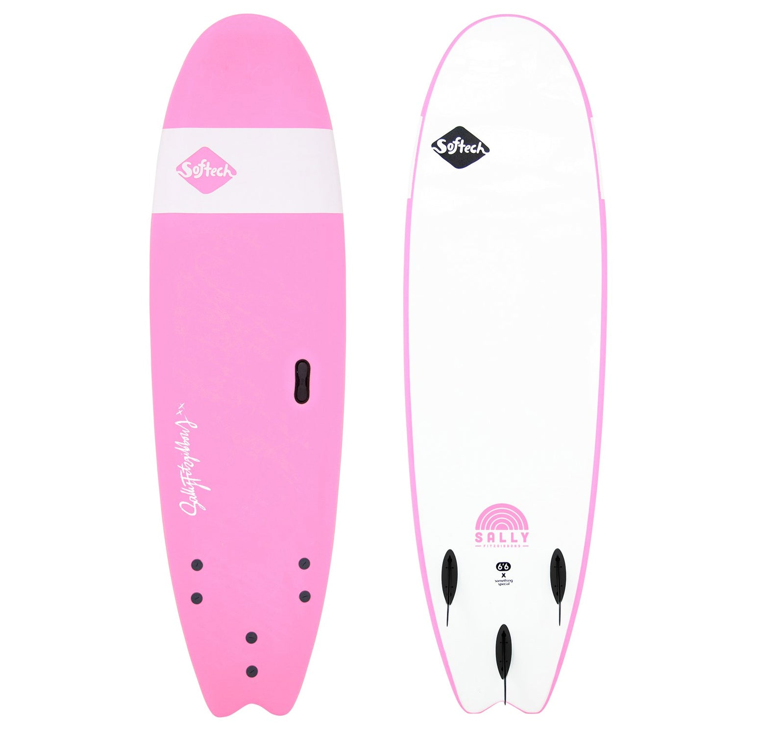 Softech Sally Fitzgibbons Handshaped Soft Surfboard