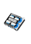 Bones Hardcore Soft Bushings Set - White/Blue