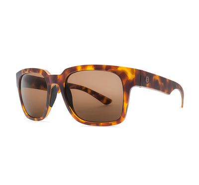 Electric Zombie S Men's Sunglasses - Matte Tort Frame/Ohm Bronze Polarized Lens