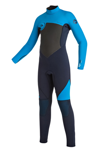 Quiksilver Syncro 3/2 Back Zip Youth Boy's Fullsuit Wetsuit