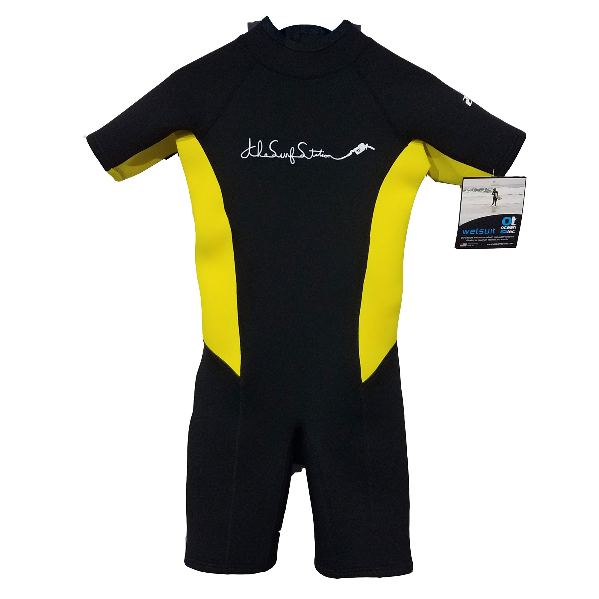 Surf Station Gas Pump 2/2 Youth Boy's S/S Springsuit