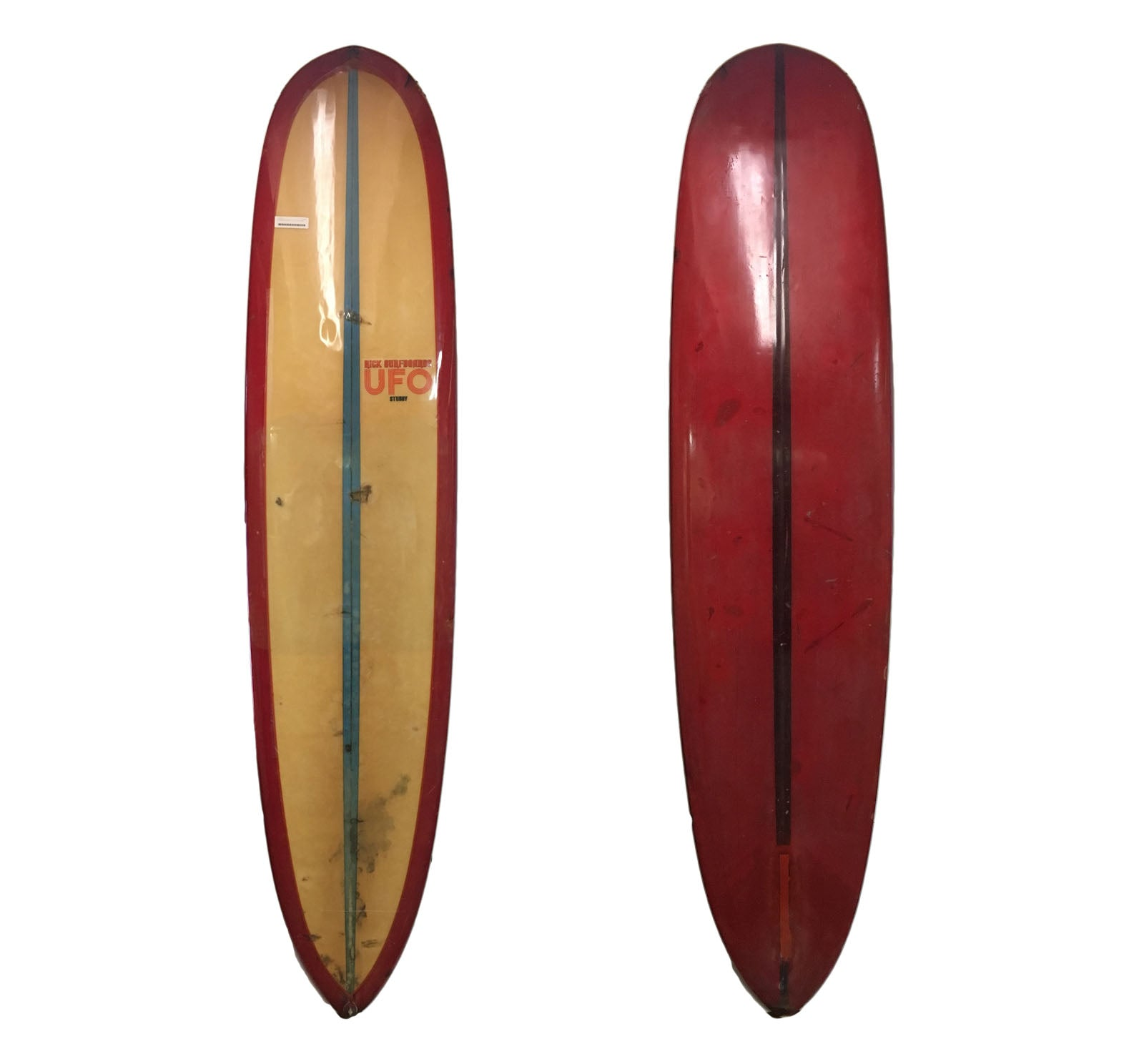 Rick UFO Stubby 8'5 Collector Surfboard