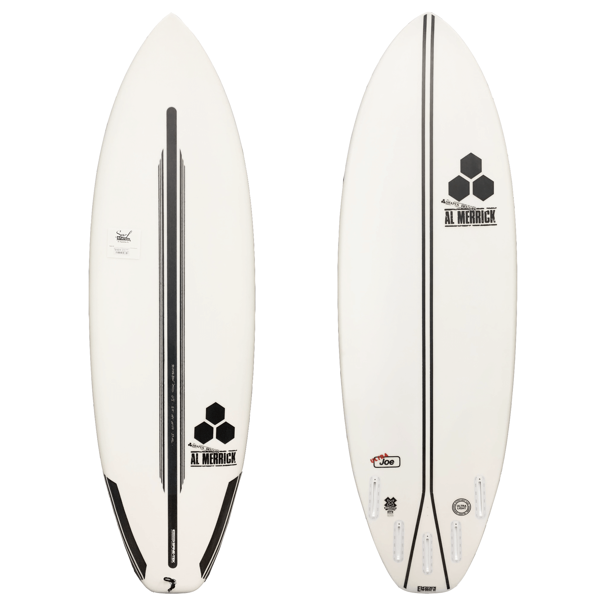 Channel Islands Ultra Joe Spine-Tek Surfboard - Futures