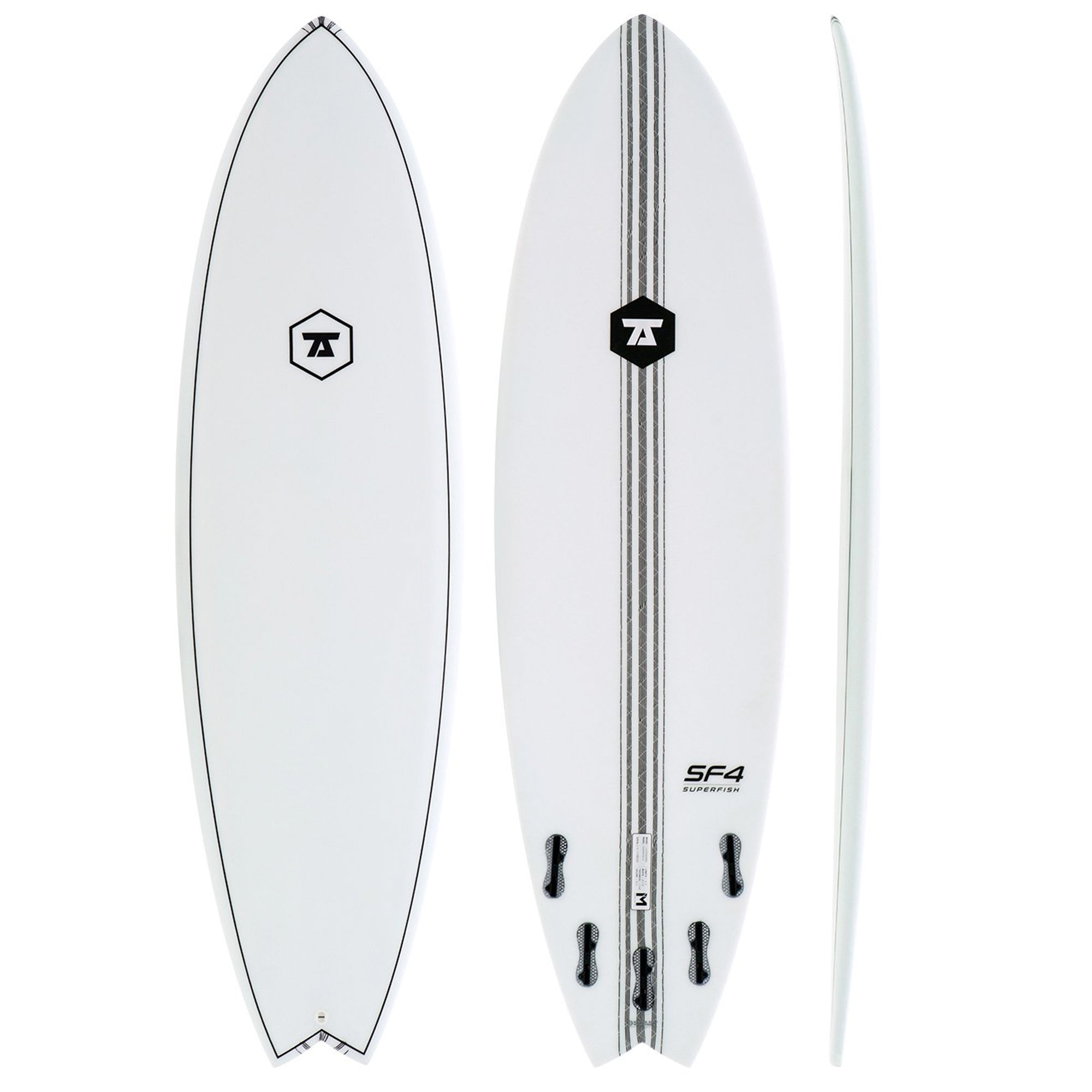 7S SuperFish 4 Surfboard - IM