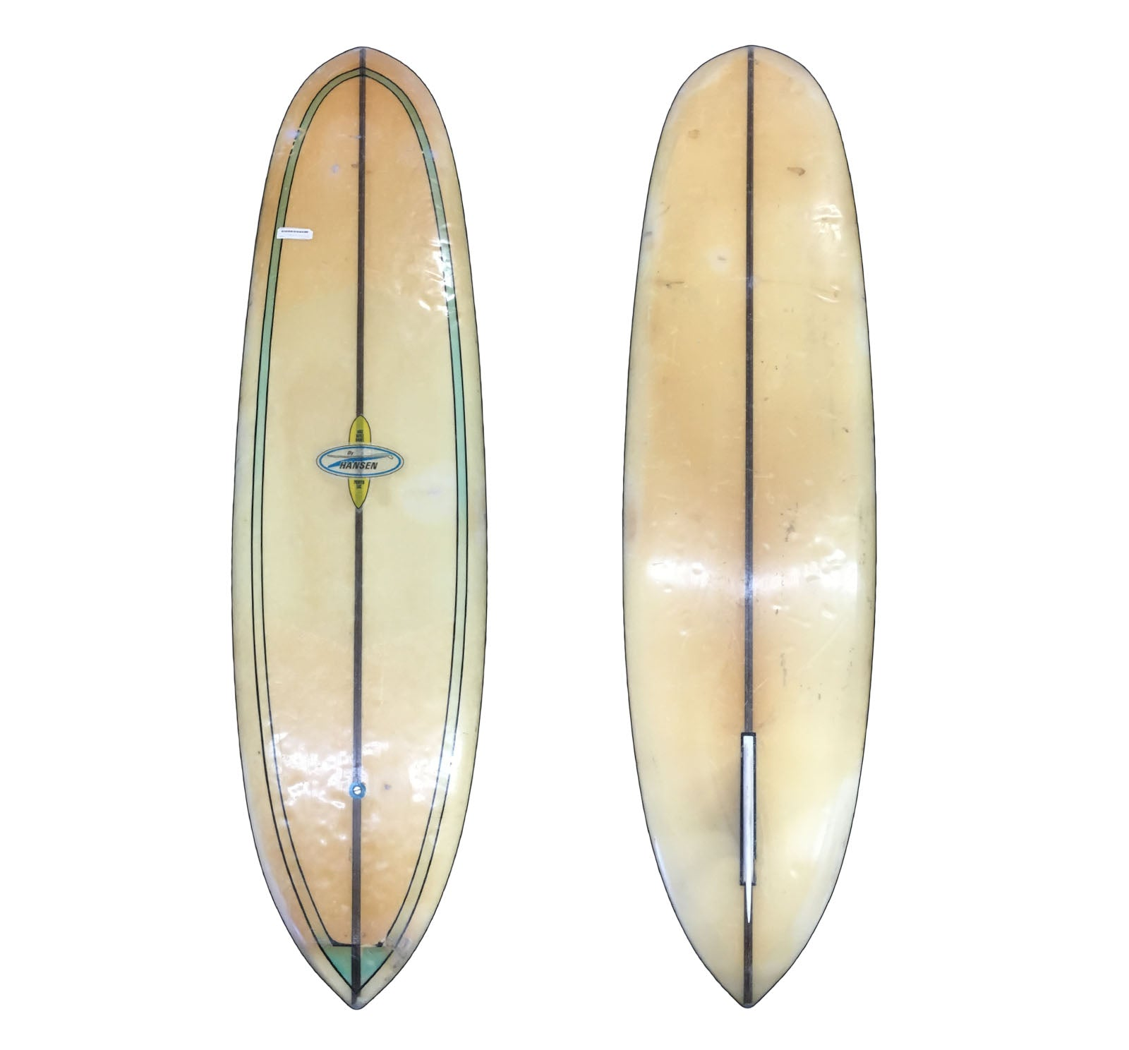 Hansen 7'6 Collector Surfboard