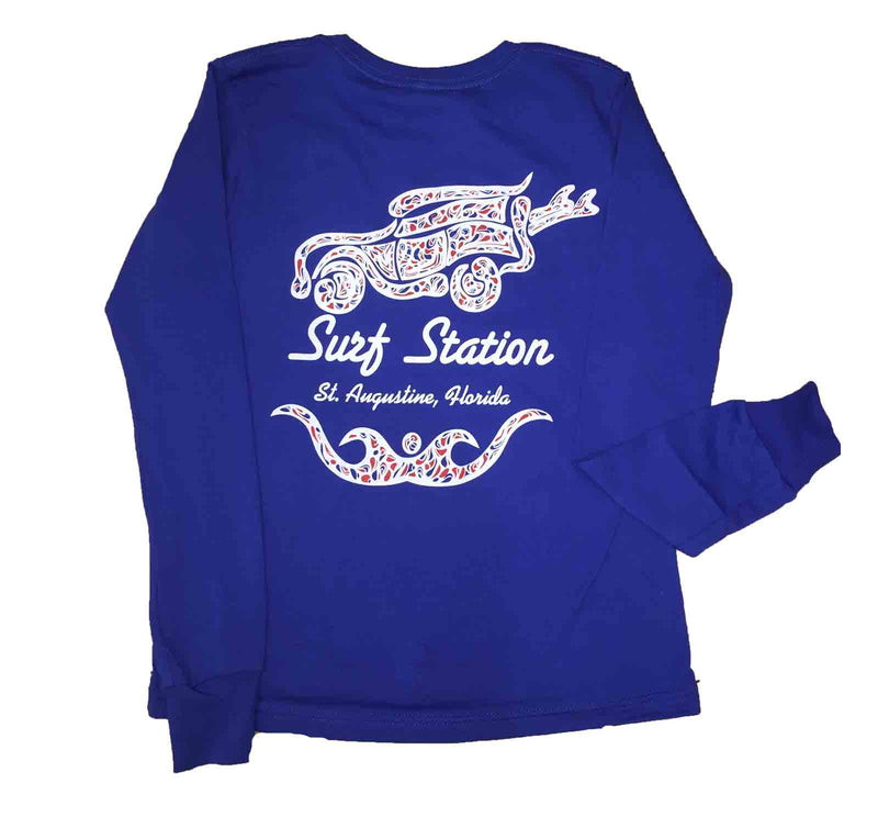 Surf Station Paisley Youth L/S T-Shirt