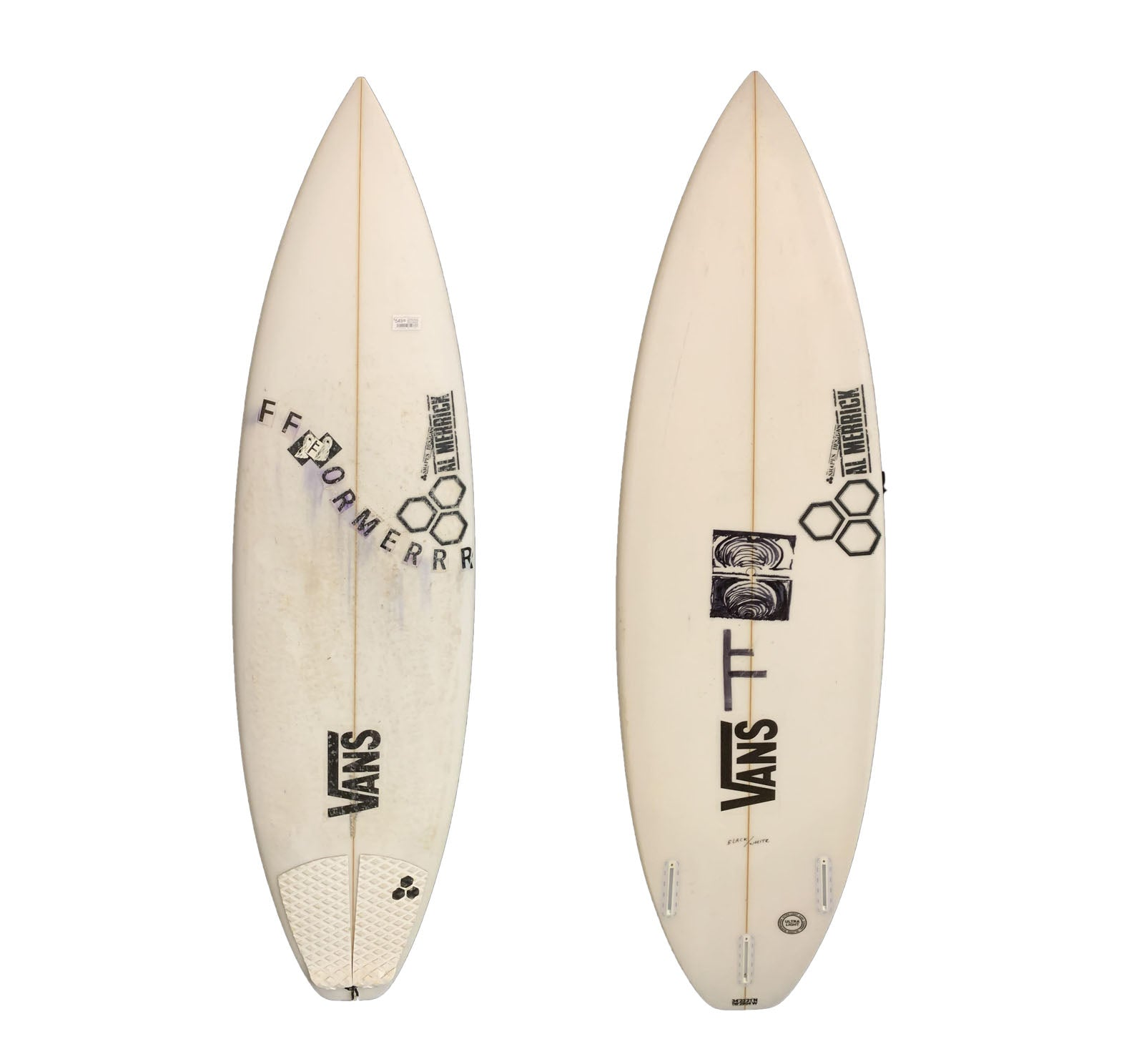 Channel Islands Black And White 6'0 Used Surfboard