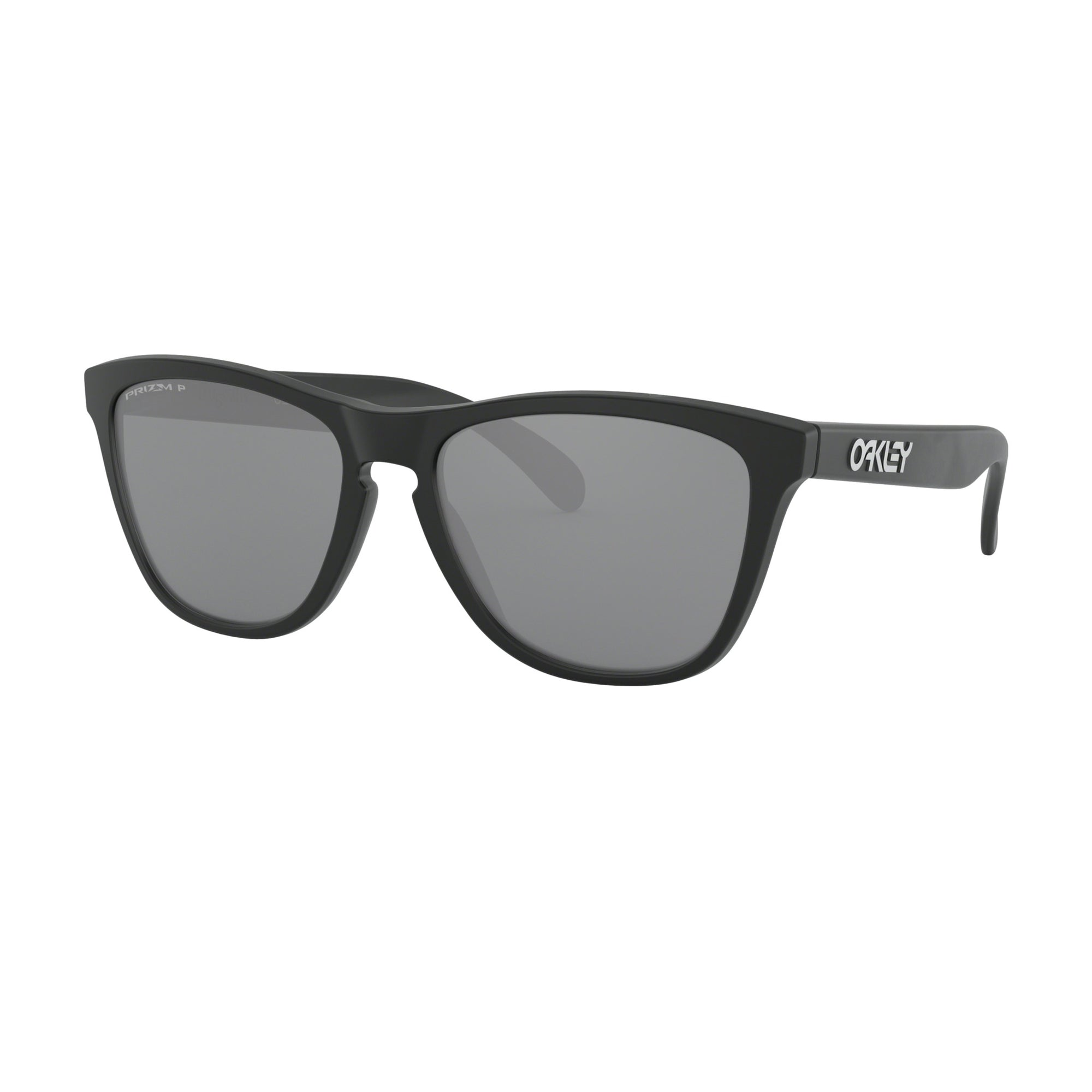 Oakley Frogskins Men's Sunglasses - Polarized - Matte Black/Prizm Black