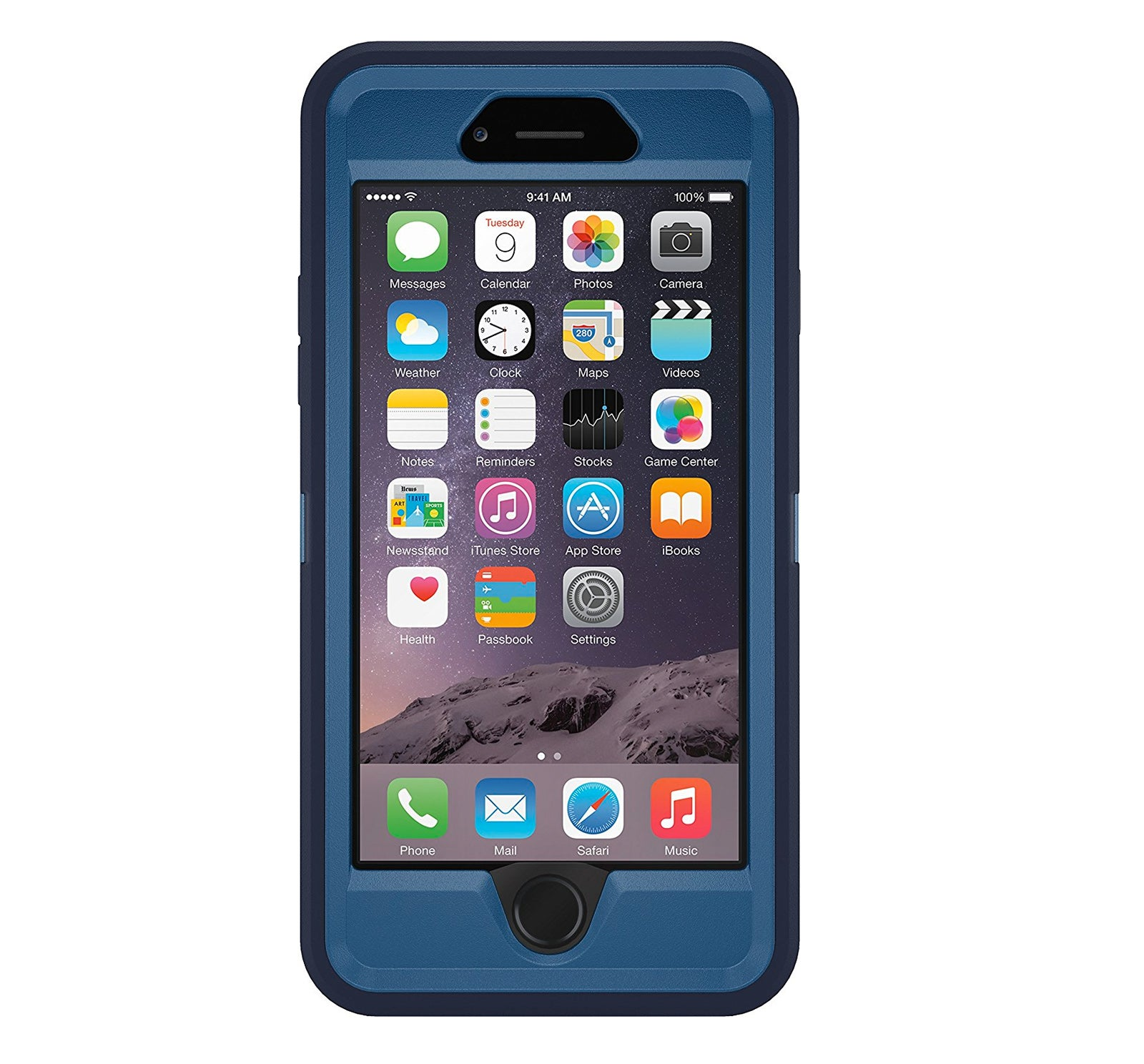 new product 3984f 568aa Otterbox Defender iPhone 6 Case - Blue