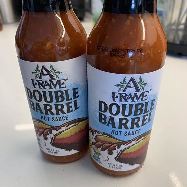 A Frame Double Barrel Hot Sauce
