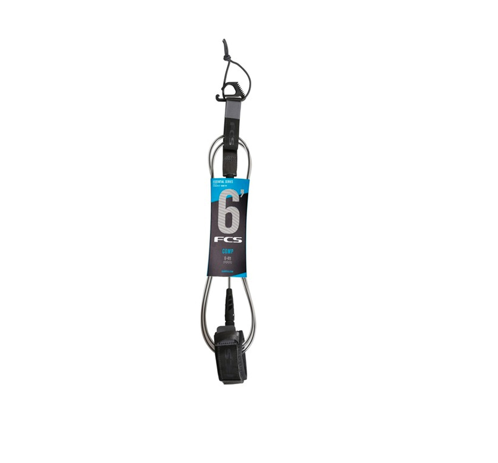 FCS 6' Comp Essential Surfboard Leash