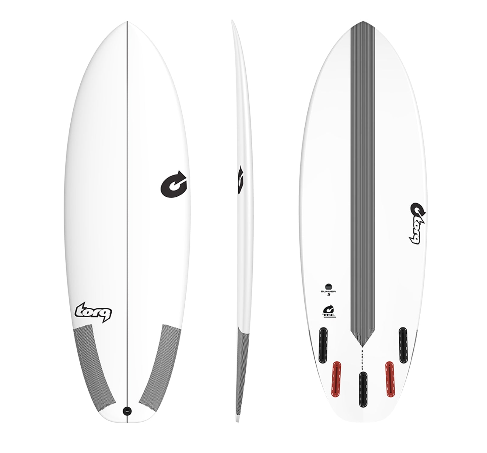 Torq Summer Five Surfboard - TEC