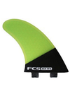 FCS MR-TFX PC Carbon/Fluro Tri Fin Set