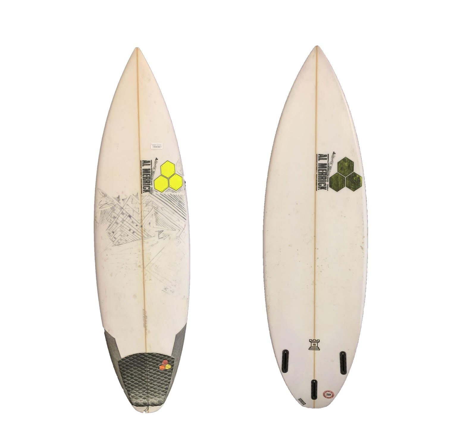 Channel Islands Rook 15 5'10 x 18 5/8 x 2 7/16 Used Surfboard (Team Custom for Hanko)