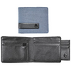 Nixon Showtime Bi-Fold Men's ID Zip Wallet - Blue Wash
