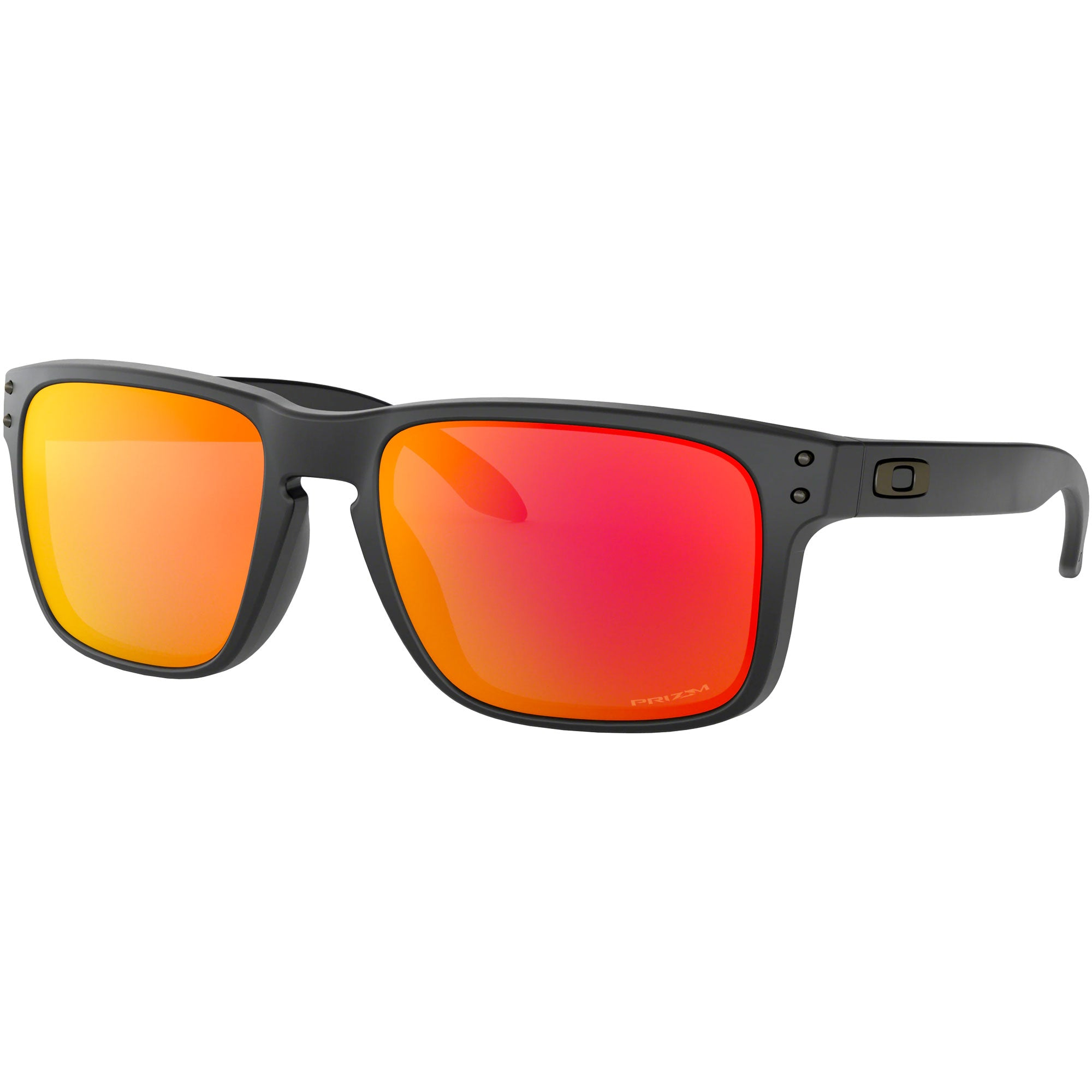 Oakley Holbrook Men's Sunglasses - Matte Black/Prizm Ruby