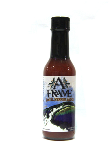 A Frame Datil Pepper Hot Sauce 5 oz