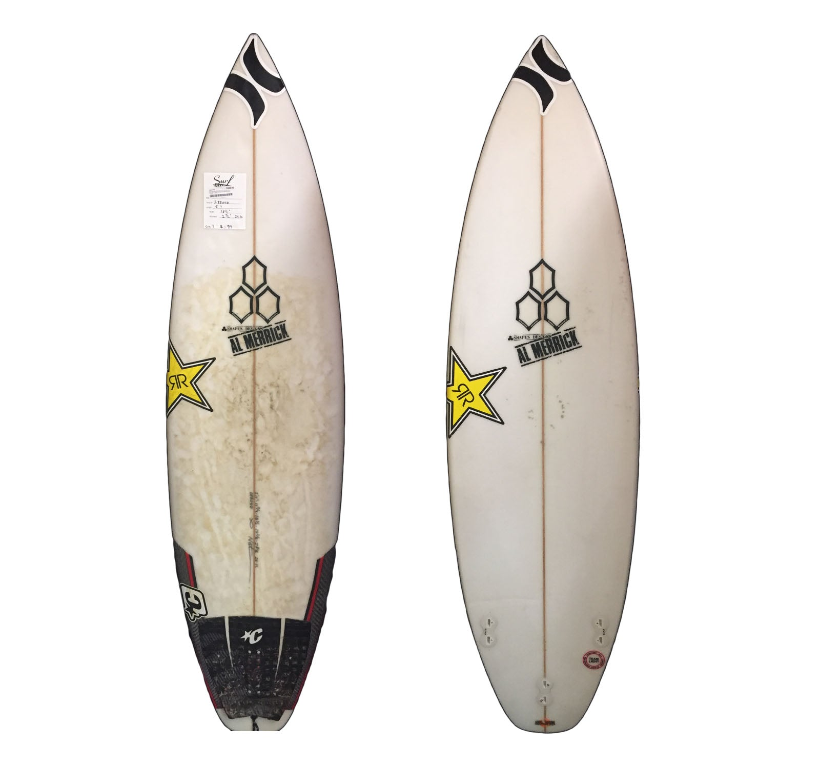 Channel Islands Custom 5'11 x 18 1/2 x 2 5/16 26.1L Used Surfboard (Team Custom For Nat Young)
