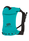 "DolfinPack Lightweight, Waterproof Hydration Pack (Version 2) "" Teal / Black"