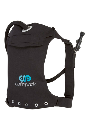 "DolfinPack Lightweight, Waterproof Hydration Pack (Version 2) "" Black / Black"