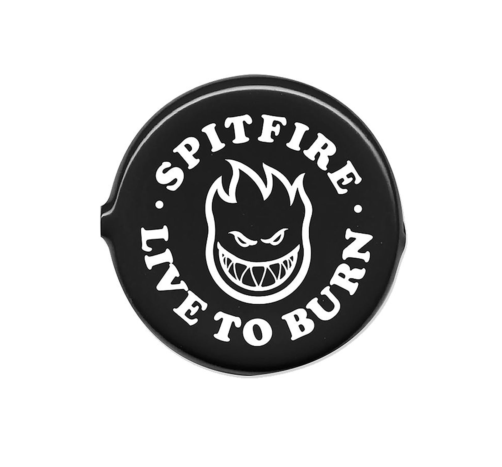 Spitfire Live To Burn Coin Pouch - Black