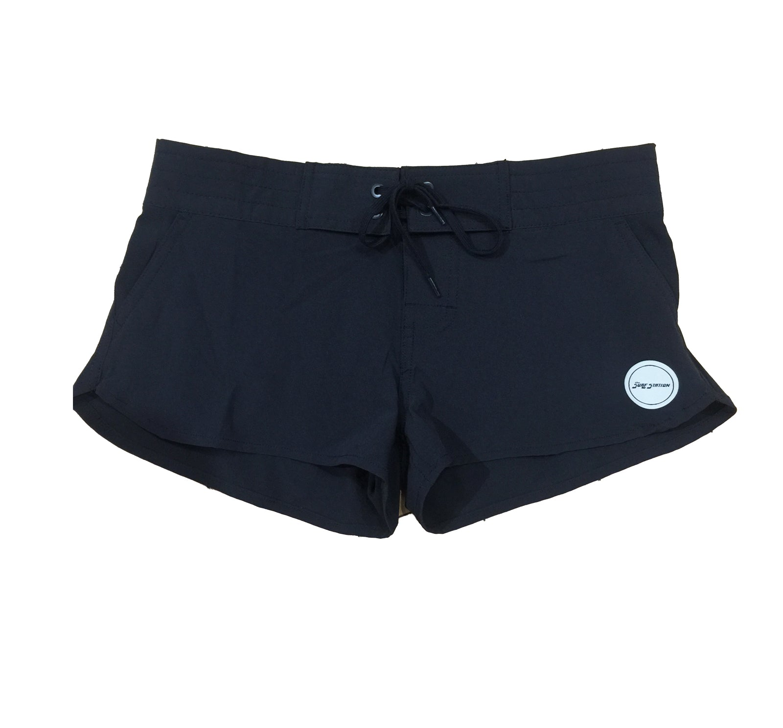 Surf Station Luca Women's Boardshorts Black