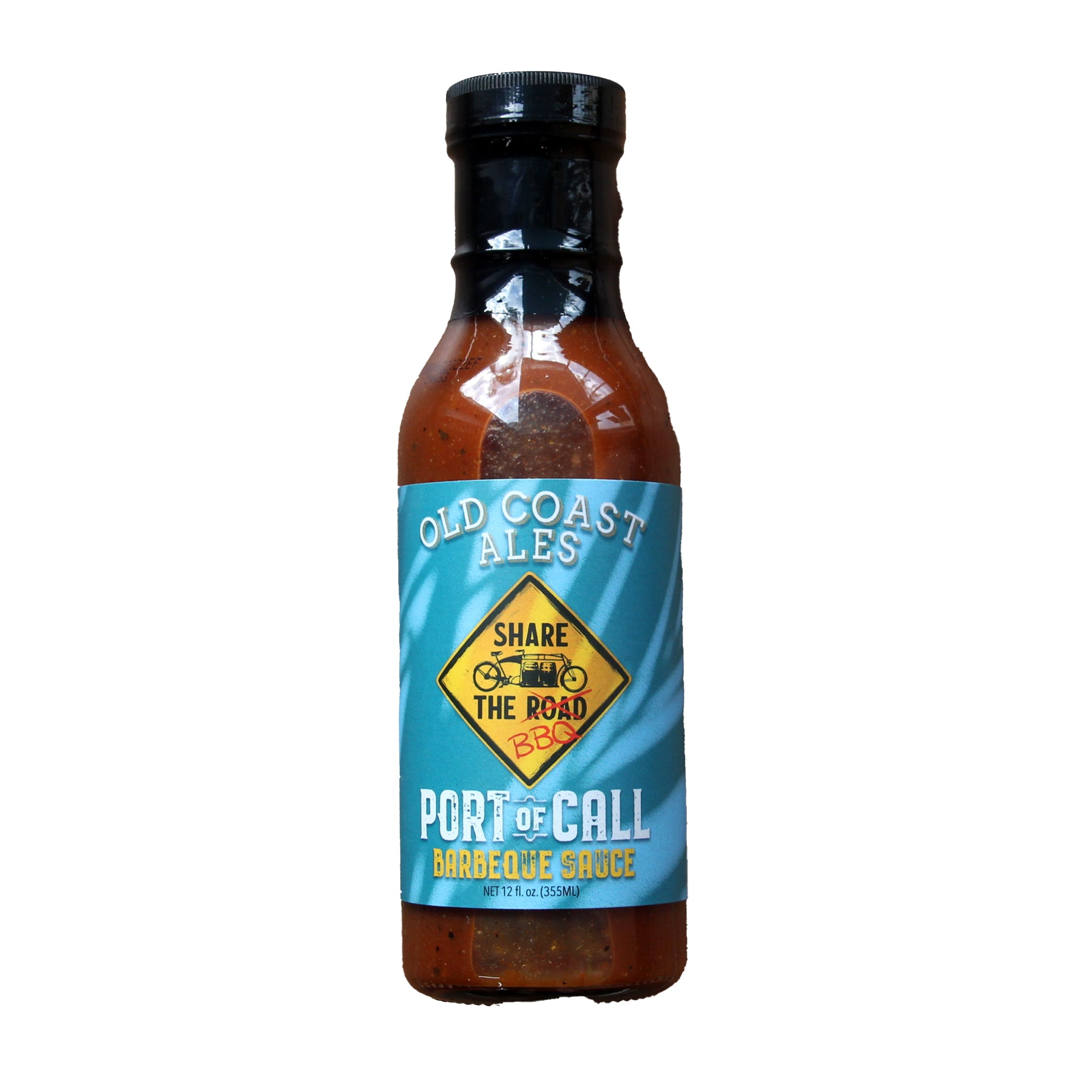 A Frame X Old Coast Ales Port of Call Barbeque Sauce - 12oz