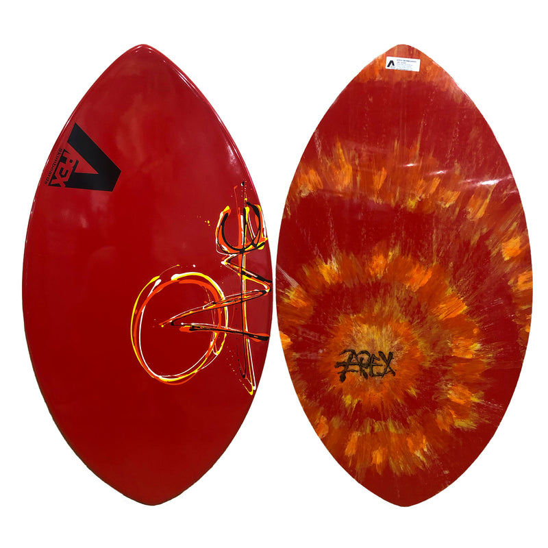 Apex AVAC Skimboard - Red