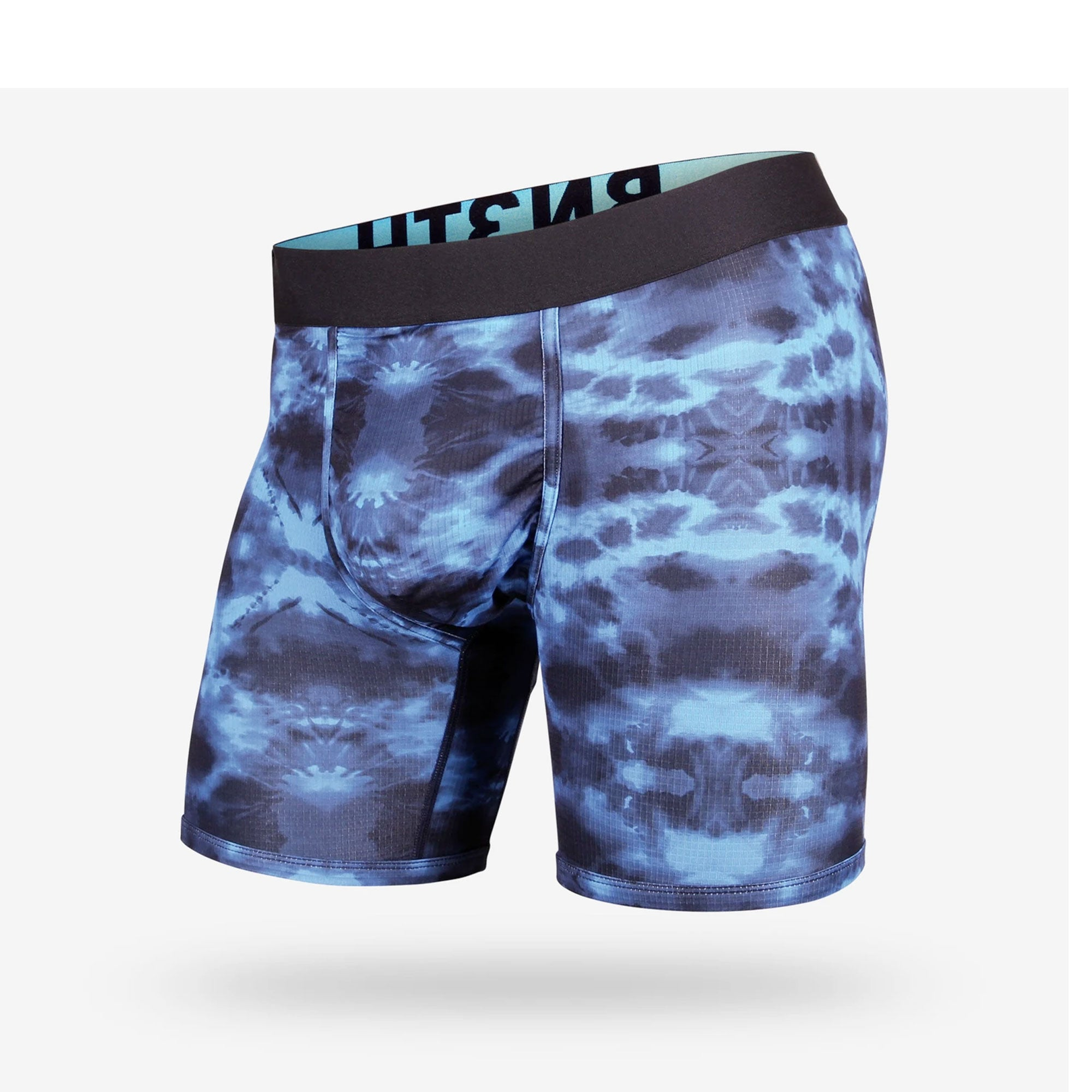 BN3TH Entourage Men's Boxer Briefs - Tie Dye-Pacific