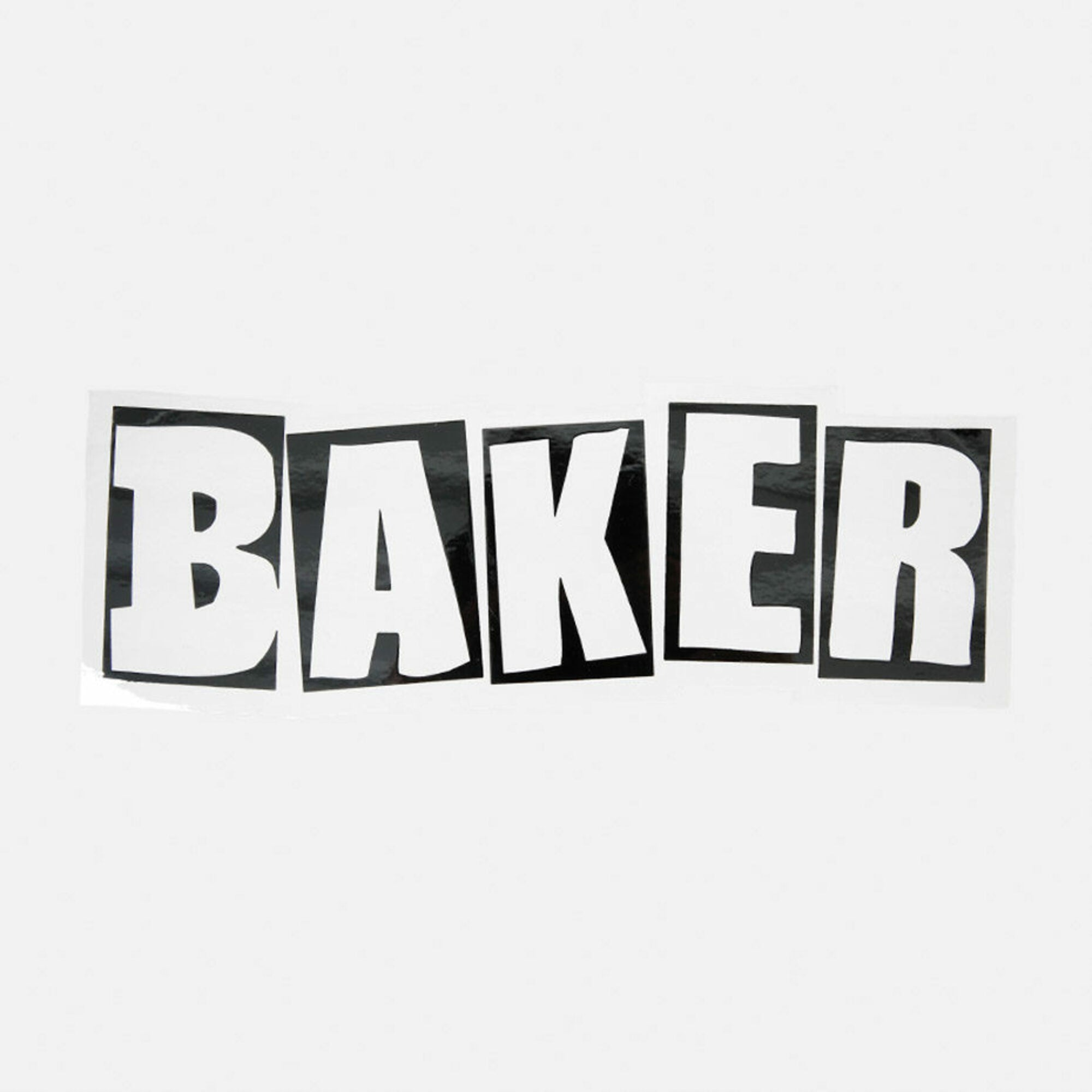 Baker Brand Logo Large Decal