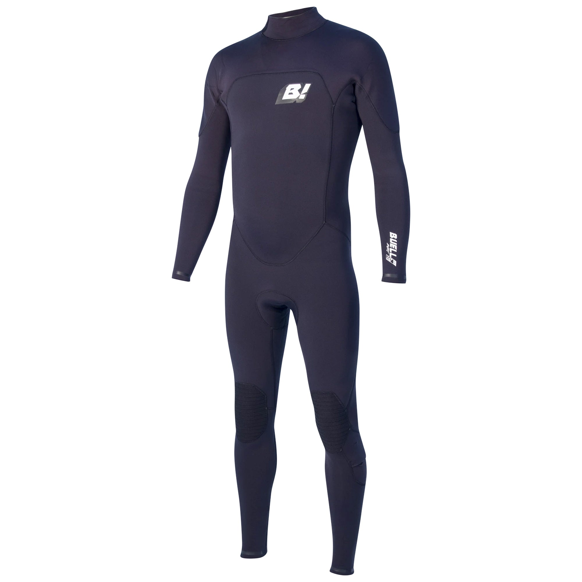 Buell RBZ Stealth Mode 3/2 Back-Zip Men's Fullsuit Wetsuit