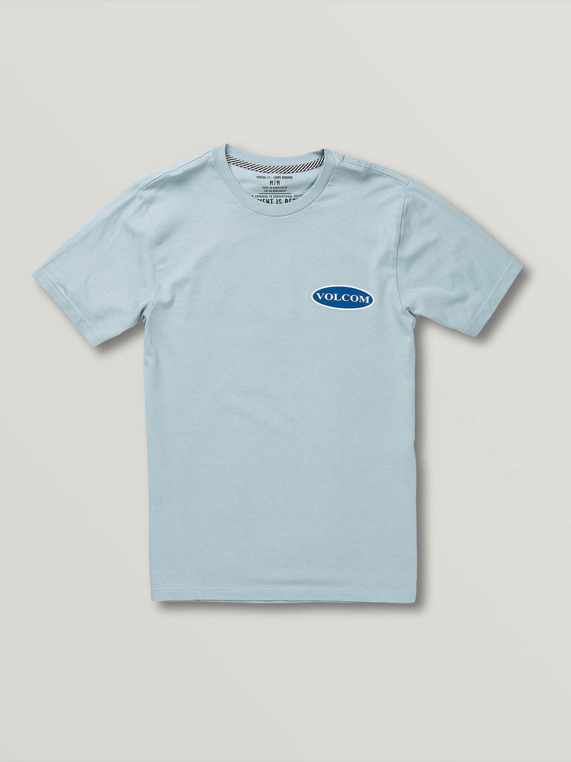 Volcom Nuevo Oval Youth Boy's S/S T-Shirt