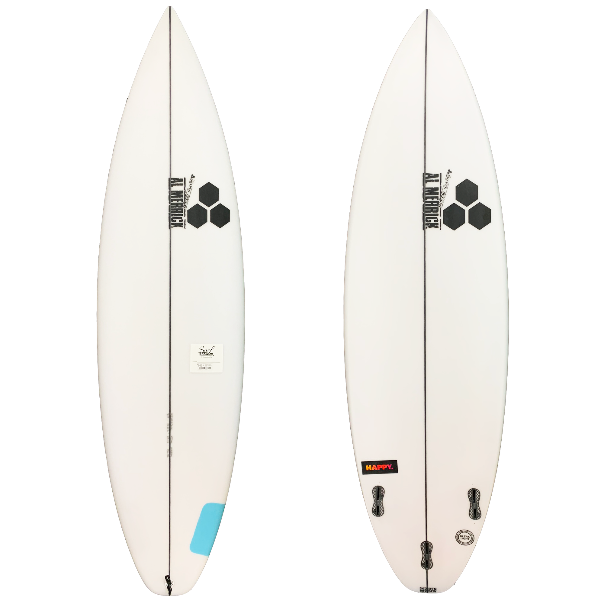 Channel Islands Happy Plus Surfboard - FCS II