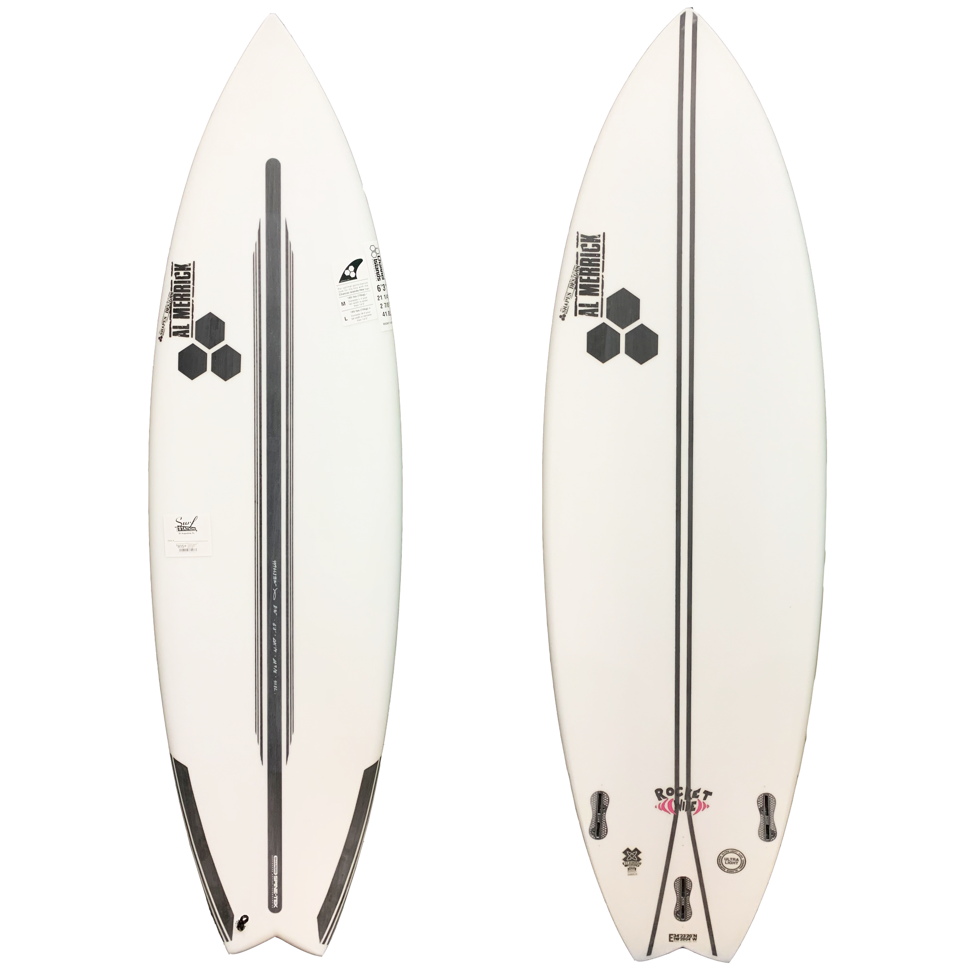 Channel Islands Rocket Wide Spine-Tek Surfboard - FCS II