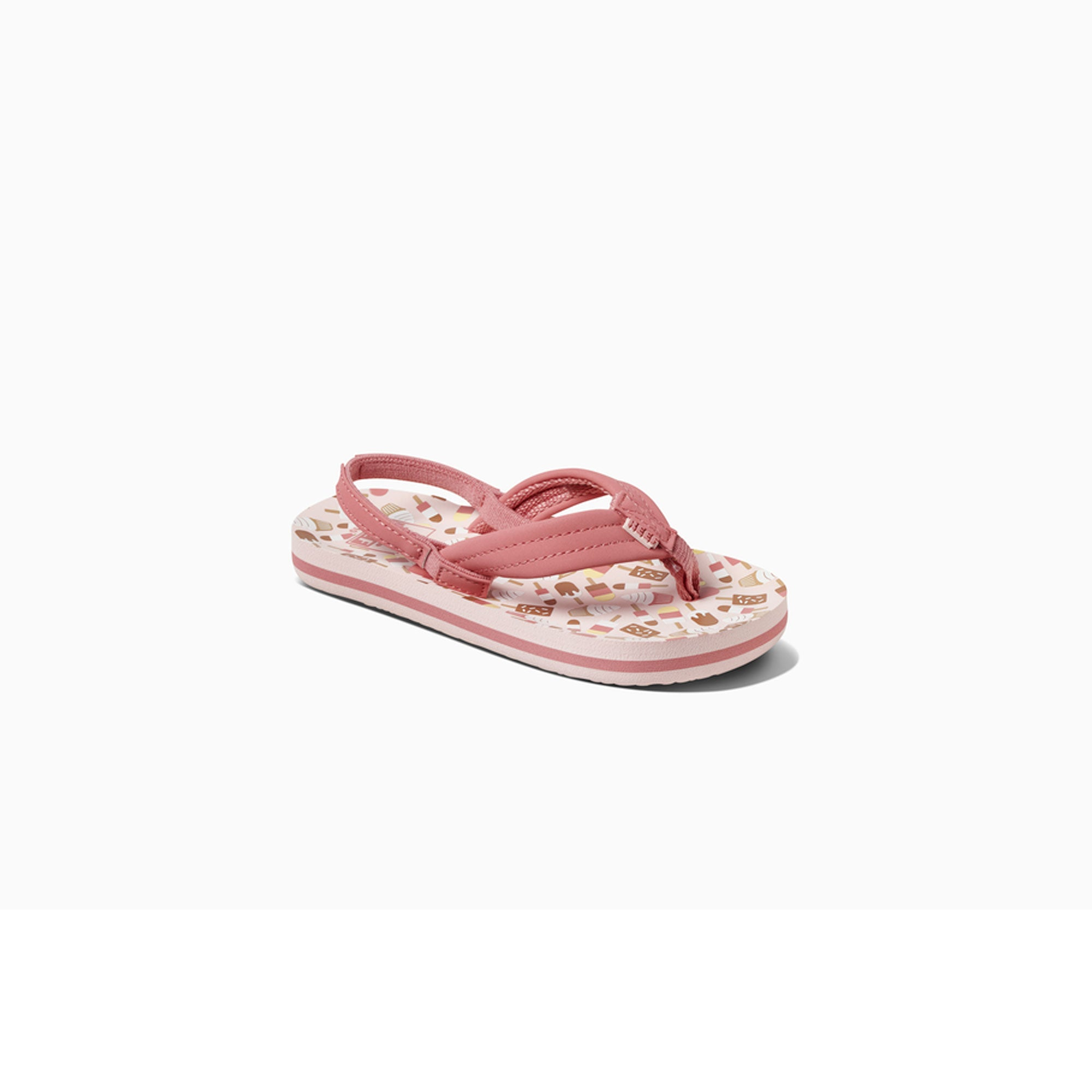 Reef Little Ahi Youth Girls Sandals - Ice Cream Truck