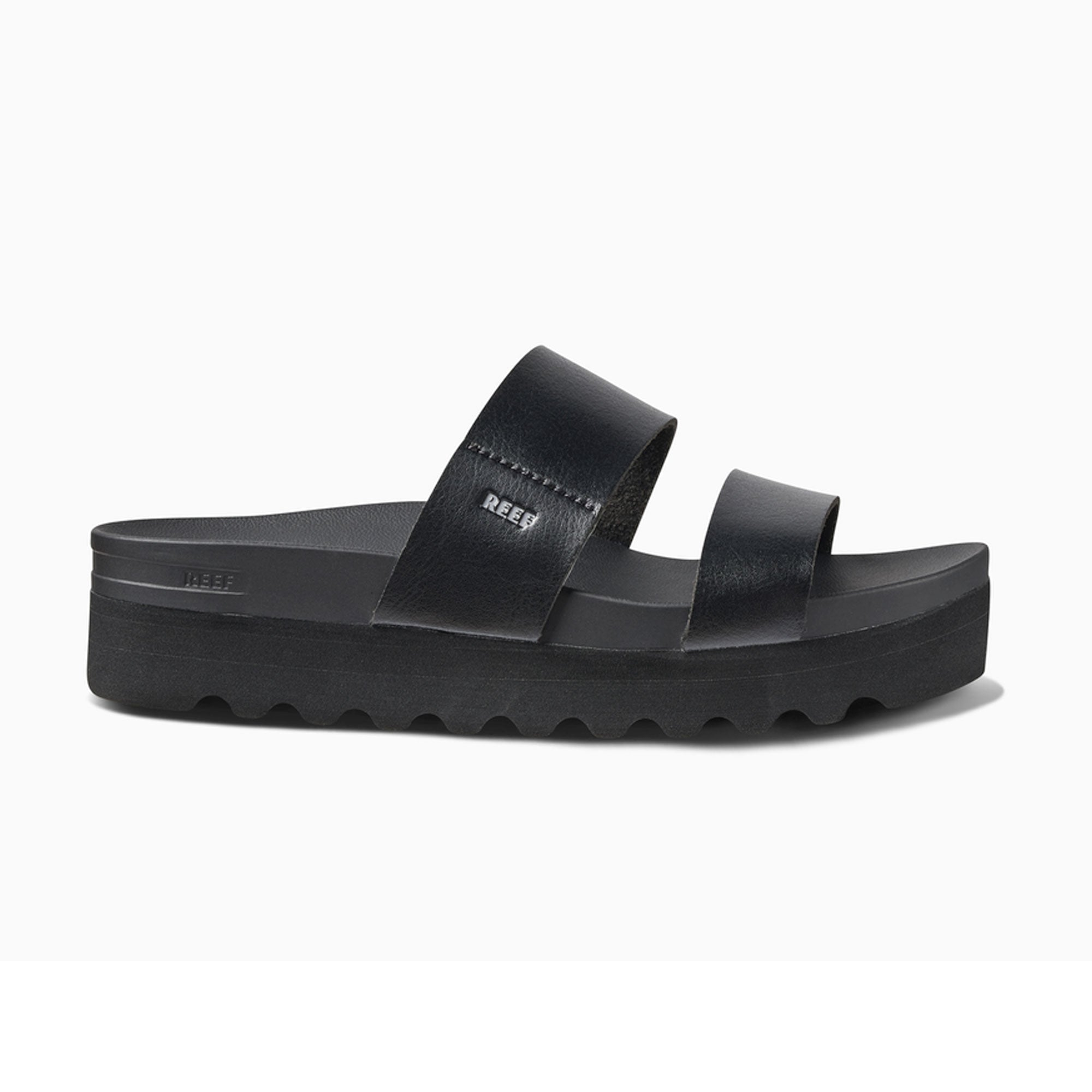 Reef Cushion Vista Hi Women's Sandals - Black